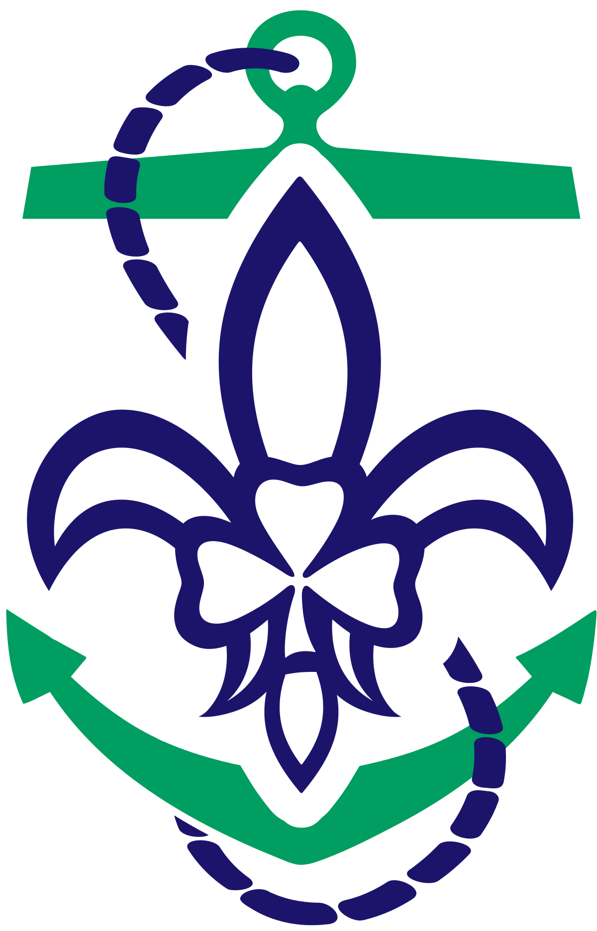 Svg 2 scout symbol. Sea scouts scouting ireland
