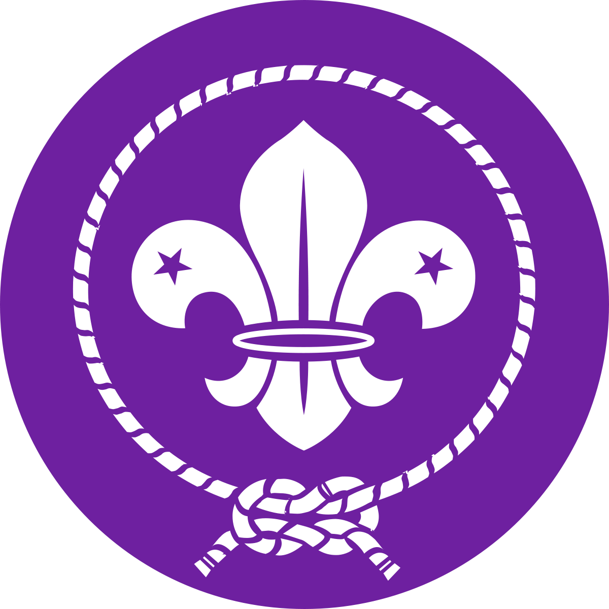 Svg 2 scout symbol. World emblem wikipedia