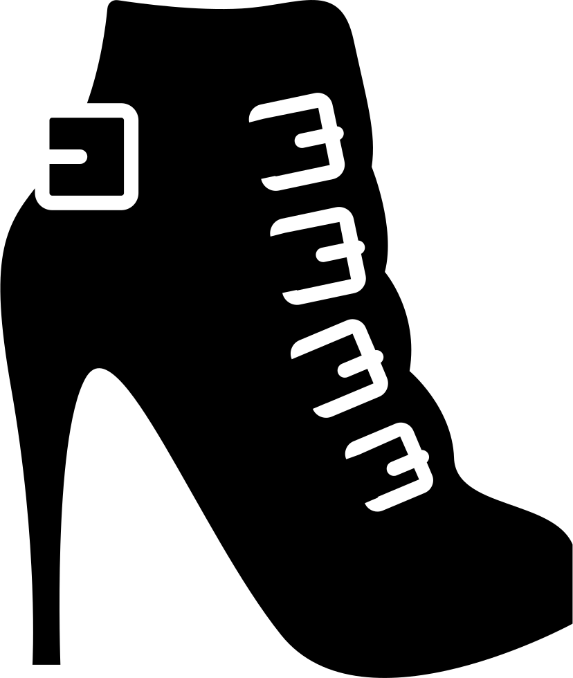 Svg 76 am mrs. High heels png icon