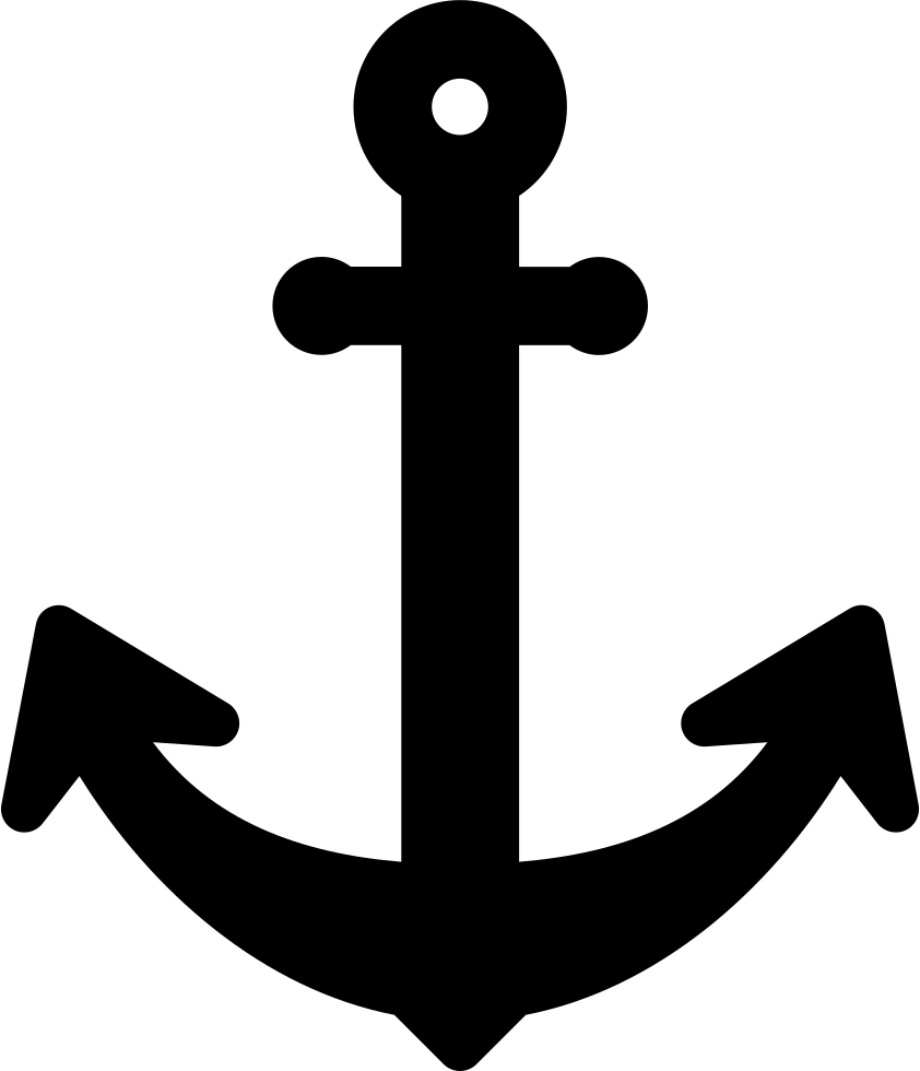 And svg anchor. Big png icon free