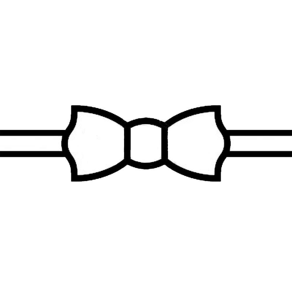 Svg and png files elmo bowtie. Bow outline free download