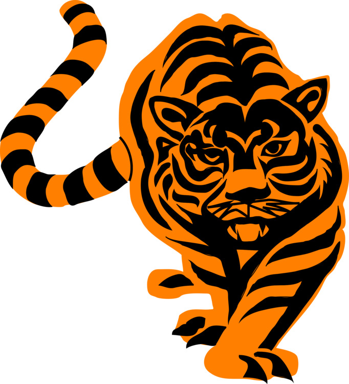 Svg artwork tiger. Drawing computer icons art