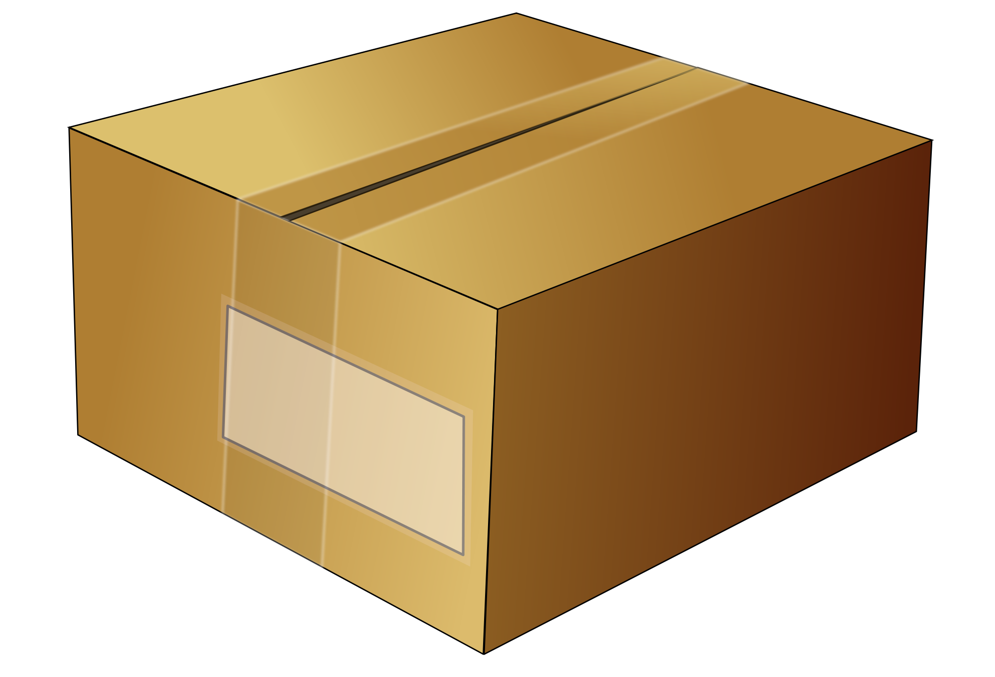 Svg box. File simple cardboard wikimedia