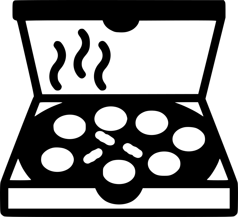 Svg box pizza. Png icon free download