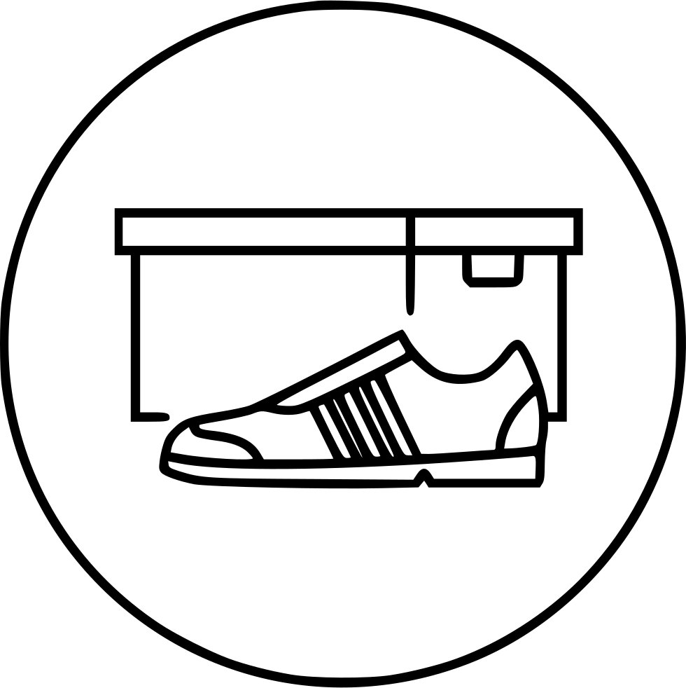 Svg box shoe. Closed png icon free