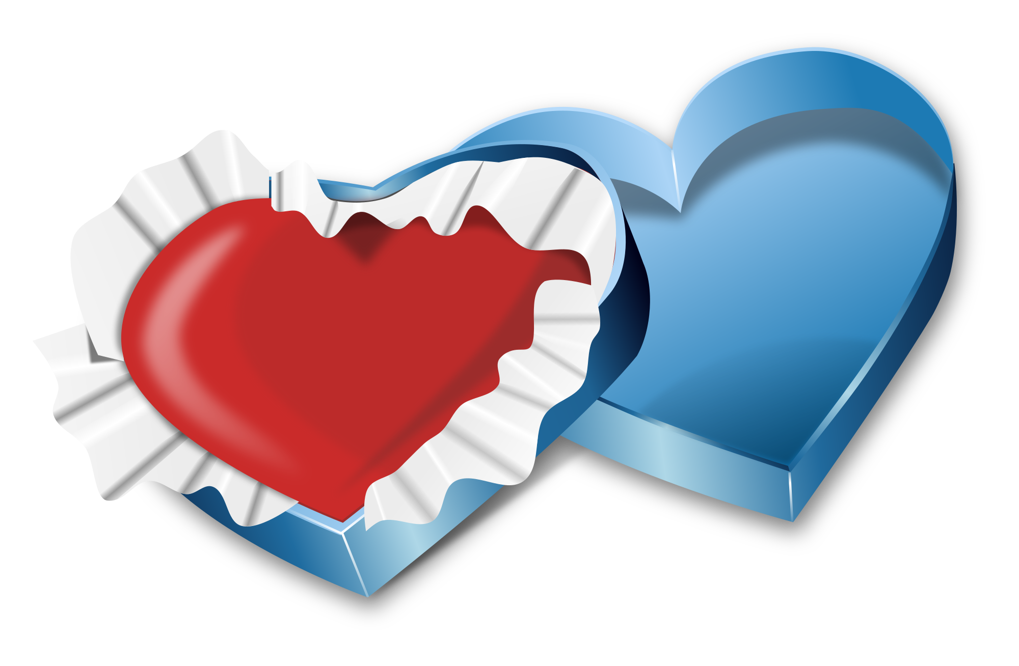 Svg box valentine. File s day heart