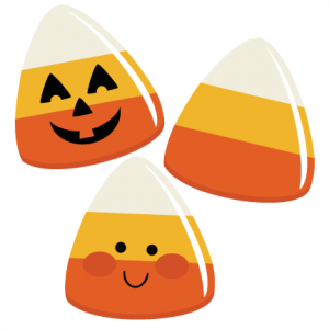 Svg boxes halloween treat. Candy corns file for