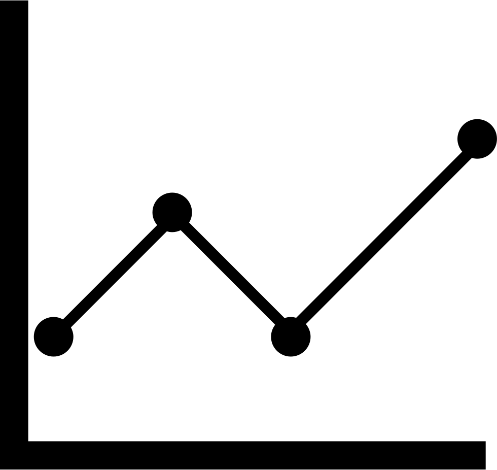Svg charts line. Tile chart png icon