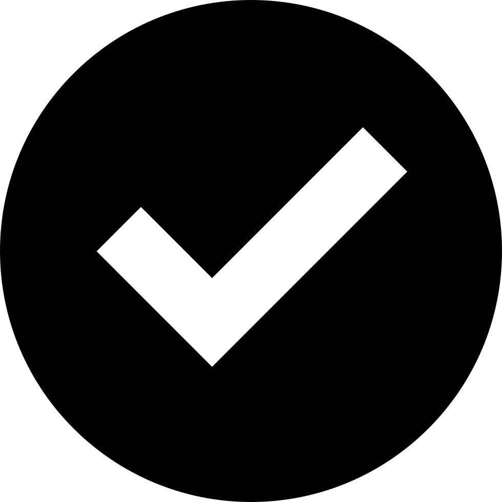 Svg checkmark alt. Check tick png icon