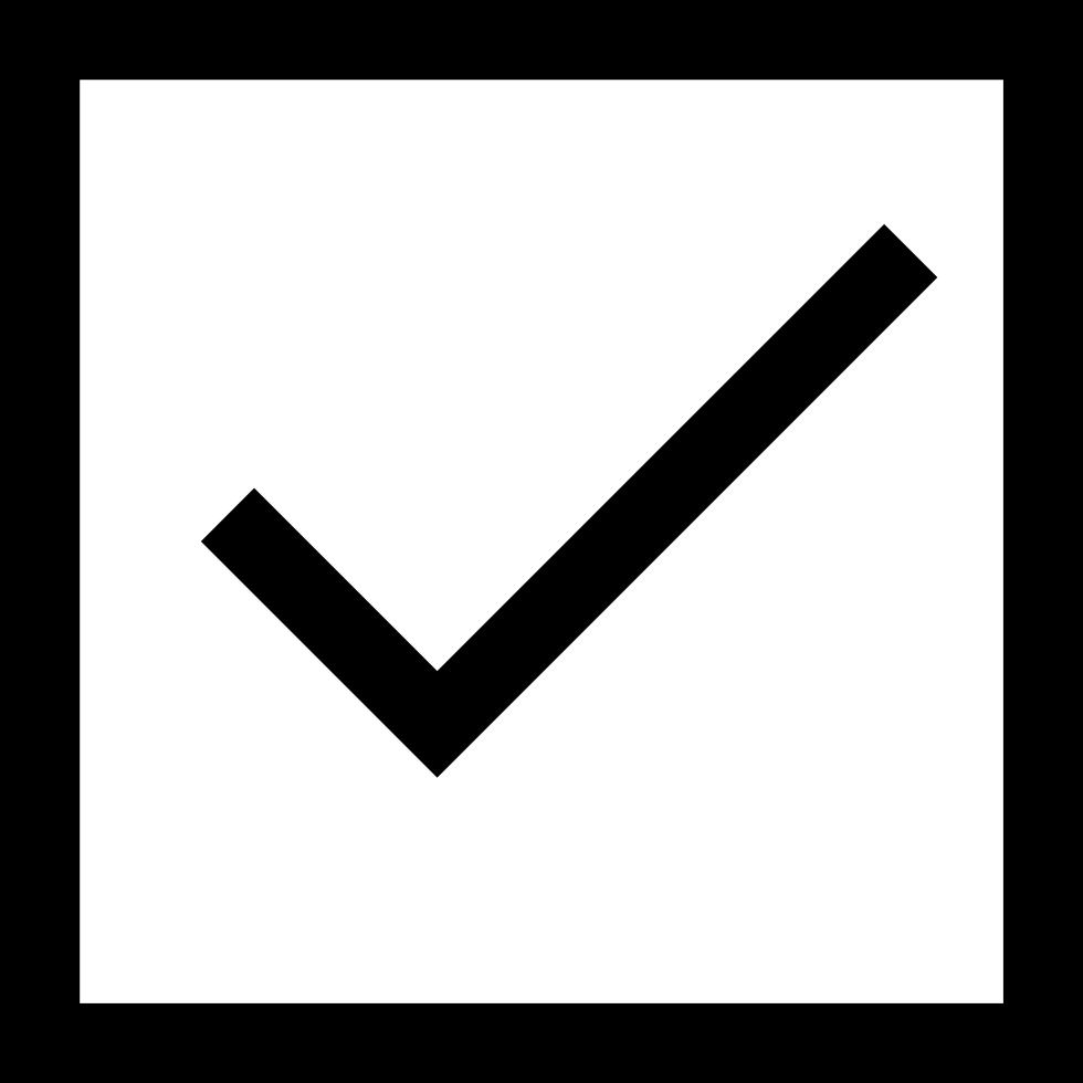 Svg checkmark square. Check mark button png