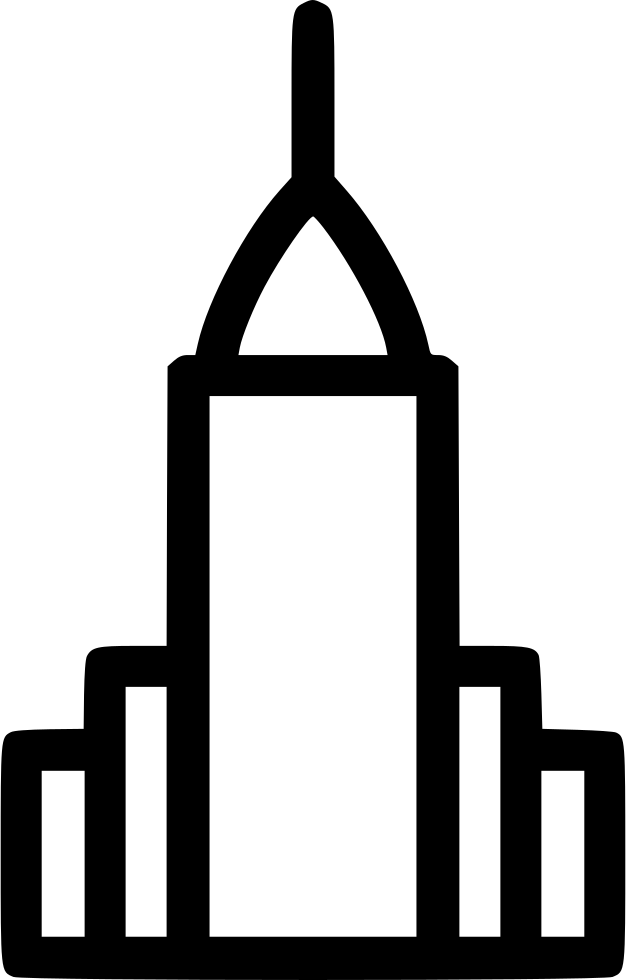 Svg chrysler limited. Building png icon free