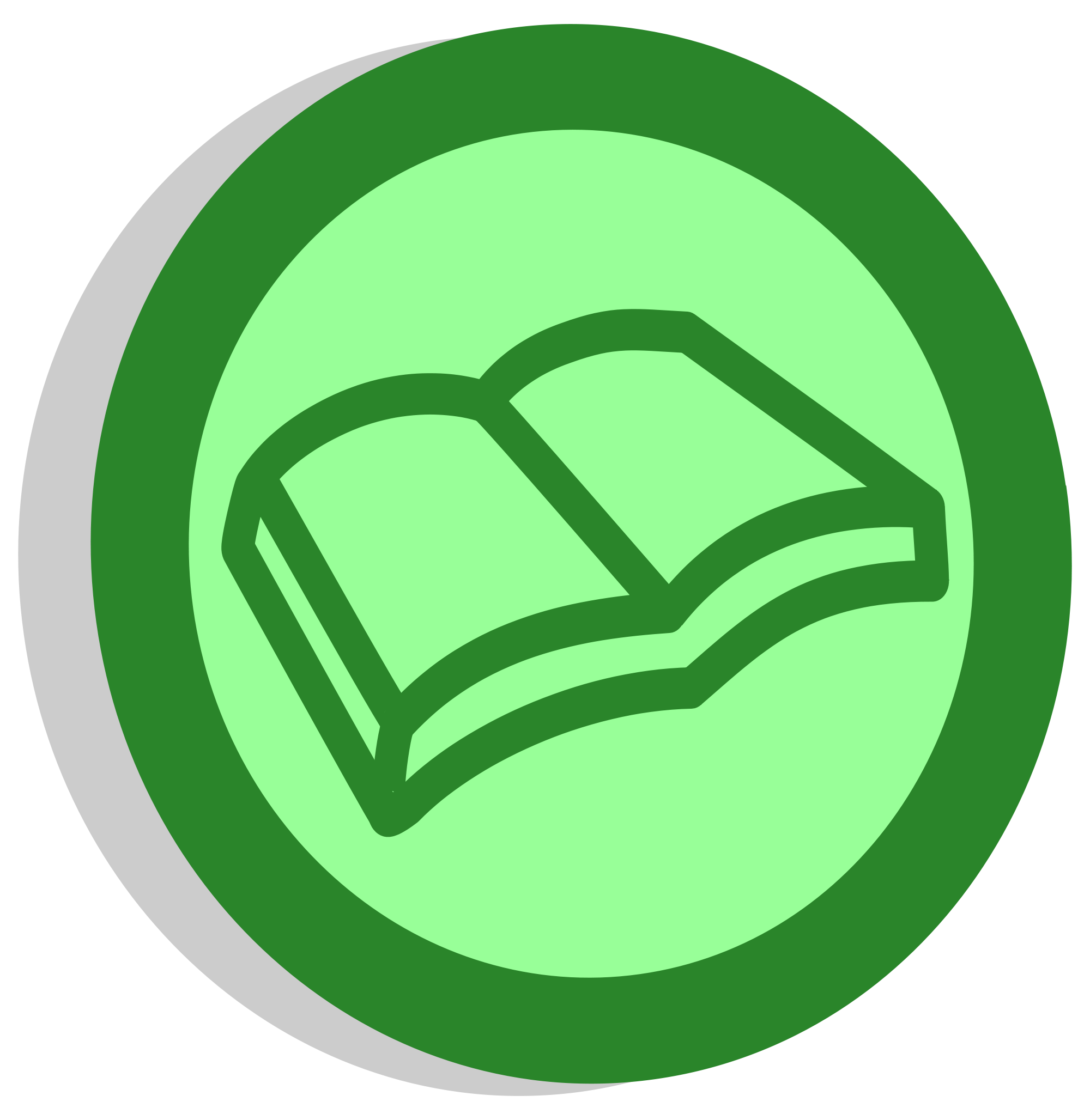 D20 svg green. Pages reading pxsymbolbookclasssvgpng