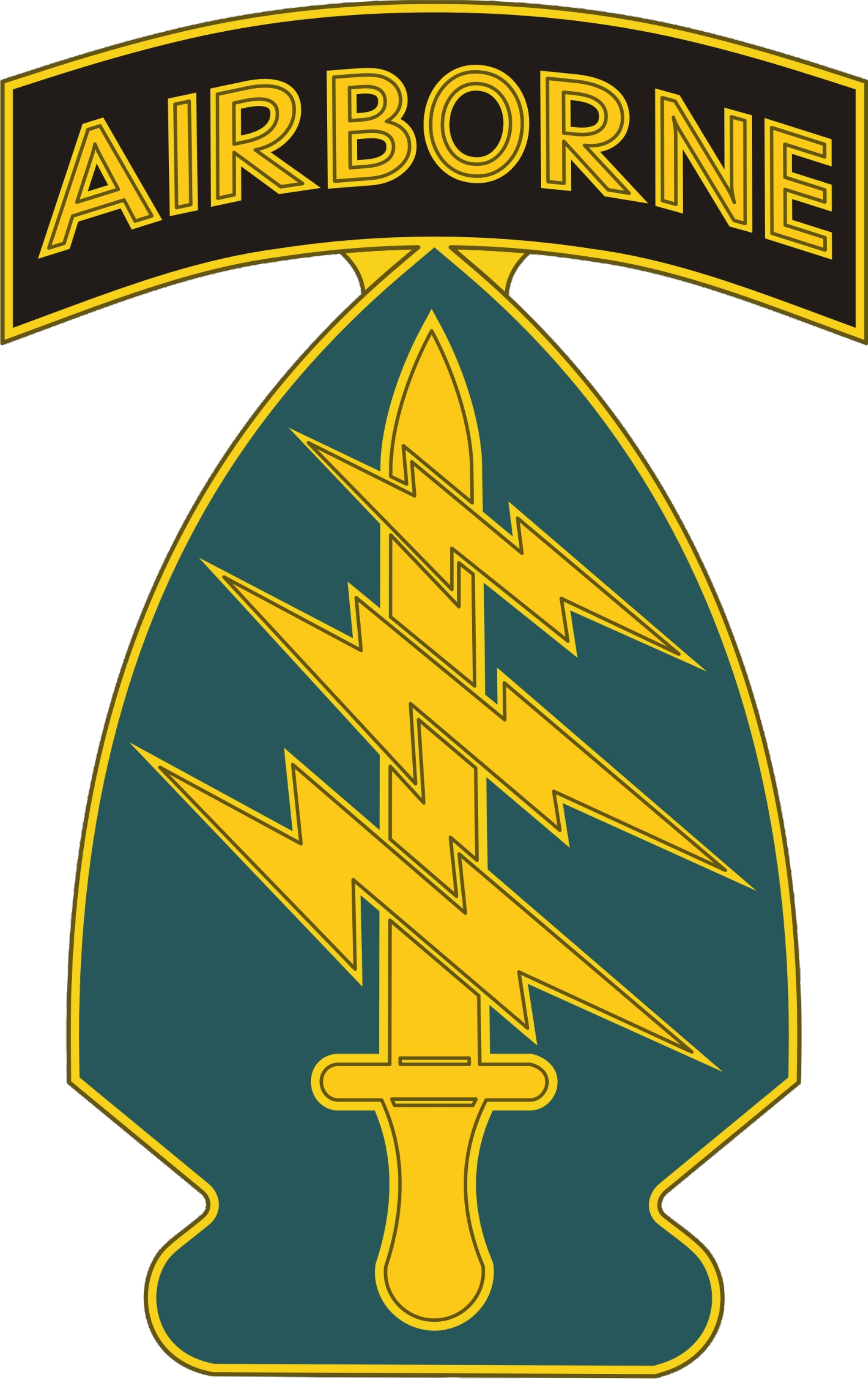 Svg class black ops. Special forces united states