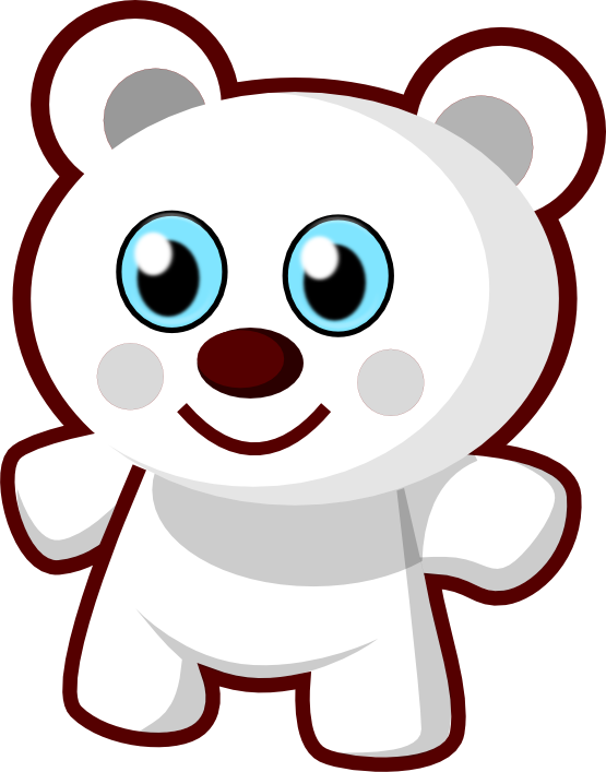Svg clip clipartist. Net art cute bear