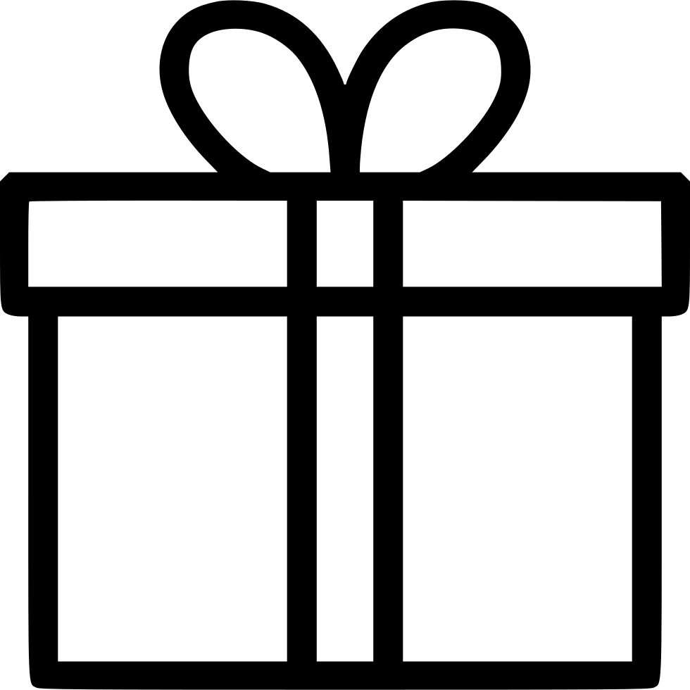 Svg clip gift. Box png icon free