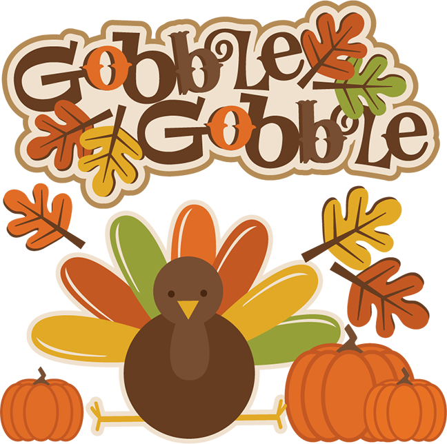 Gobble thanksgiving cutting files. Svg clip turkey banner transparent stock