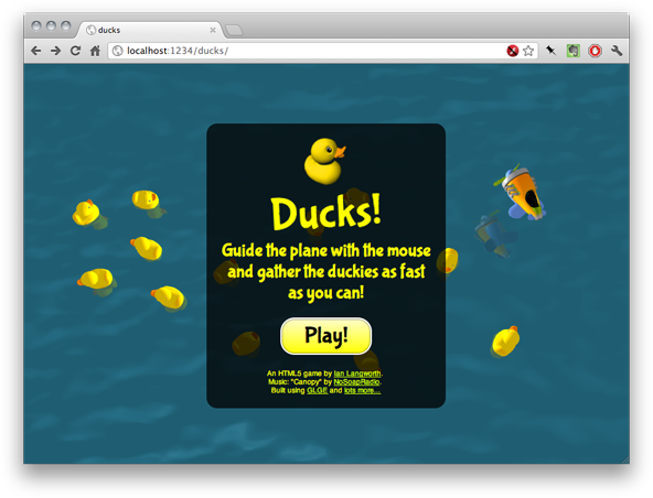 Svg dom webgl. Building a game with