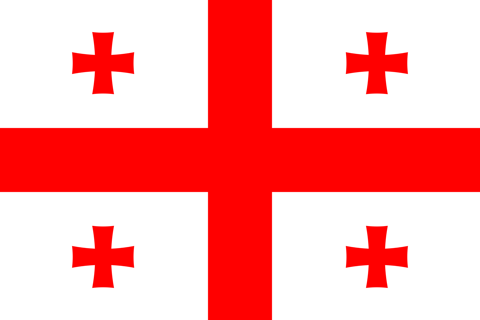 Svg flags georgia flag state. File of transparent background