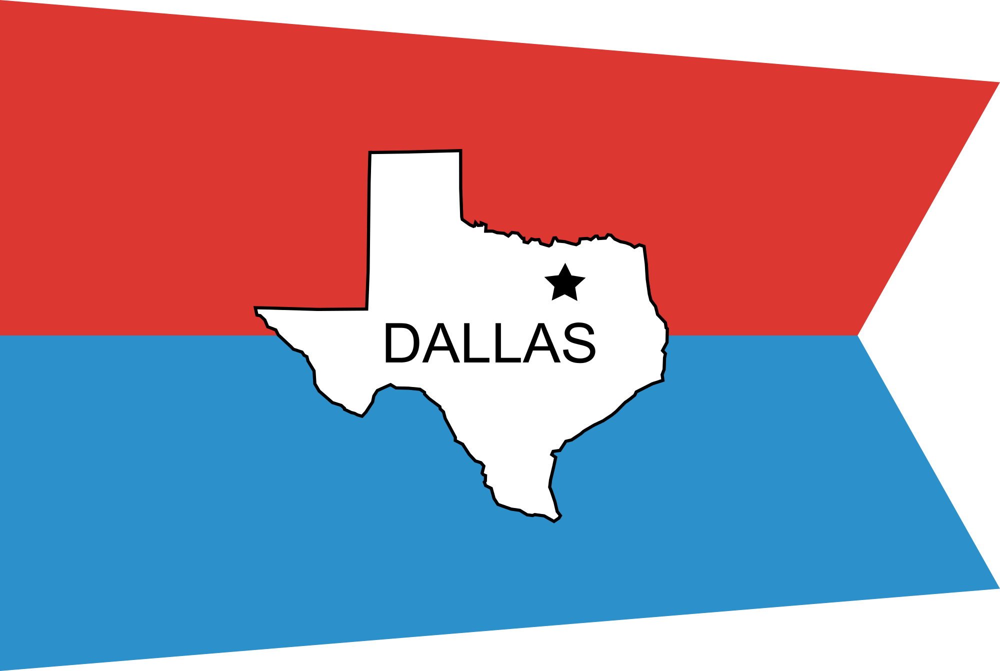 Svg flags vincy. File flag of dallas