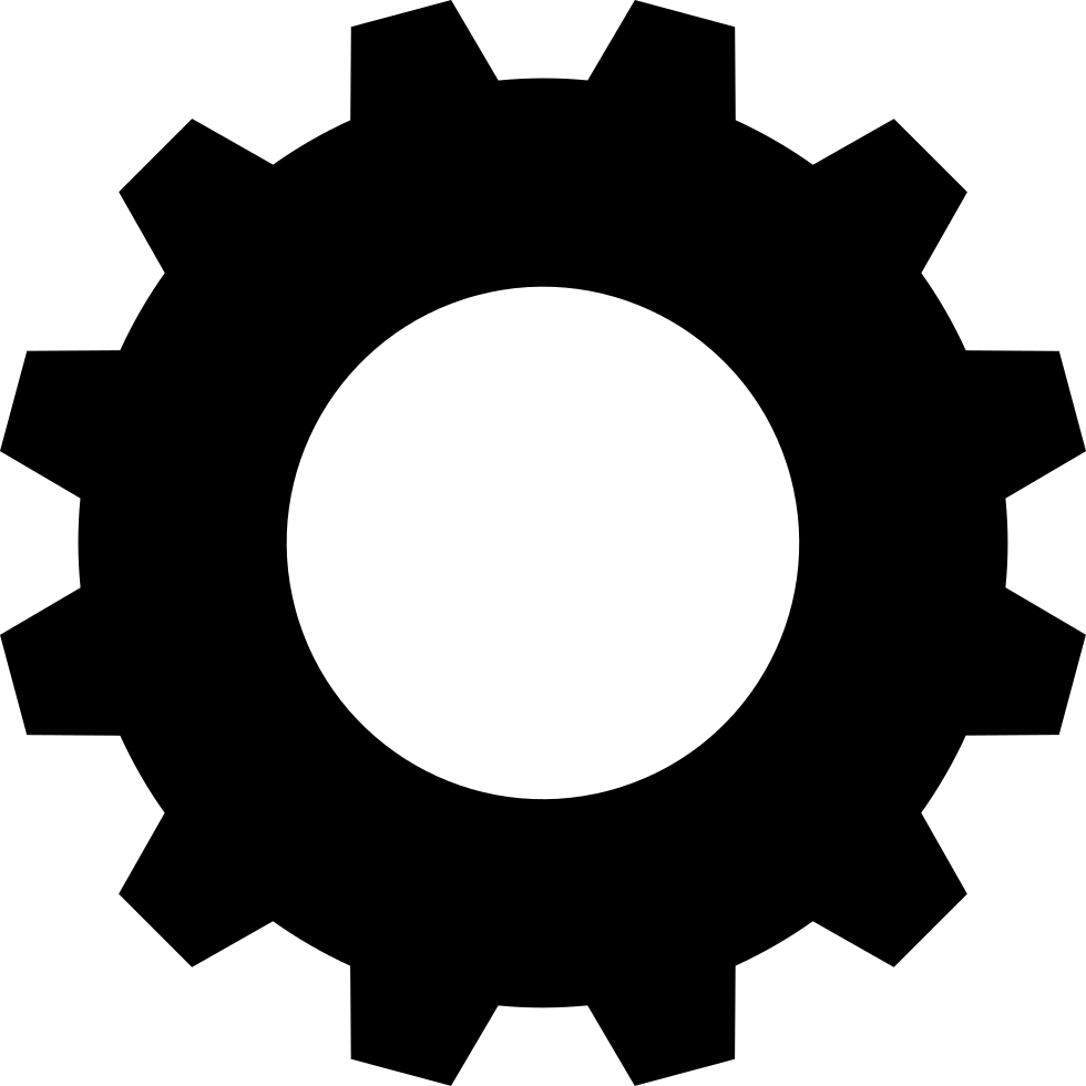 Svg gear. Png icon free download