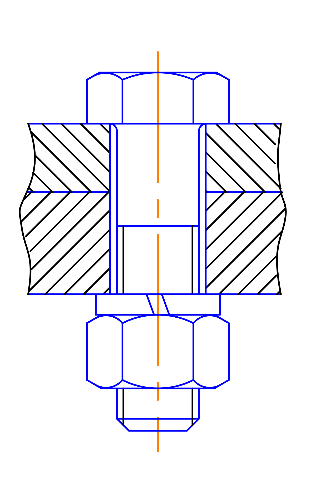 Svg graph cad. Bolted joint wikipedia
