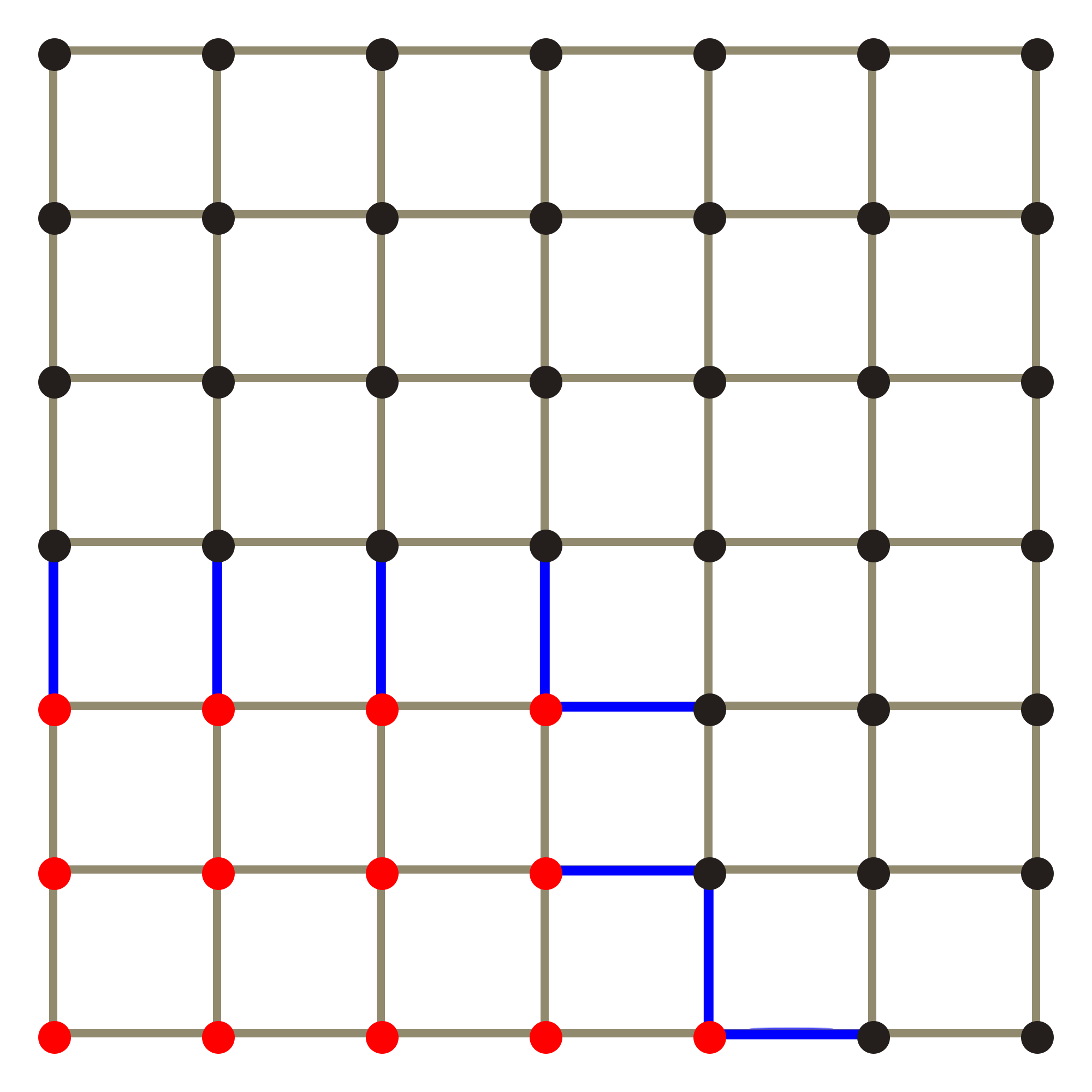 Svg grid. File x edge boundary