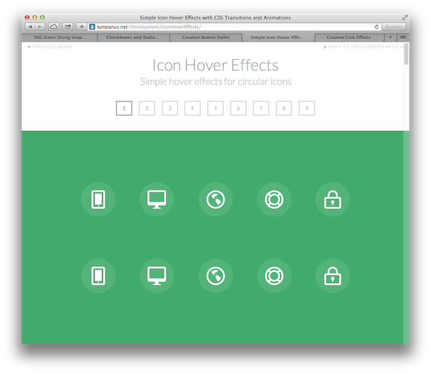 Svg hover button. Animated icons checkboxes buttons