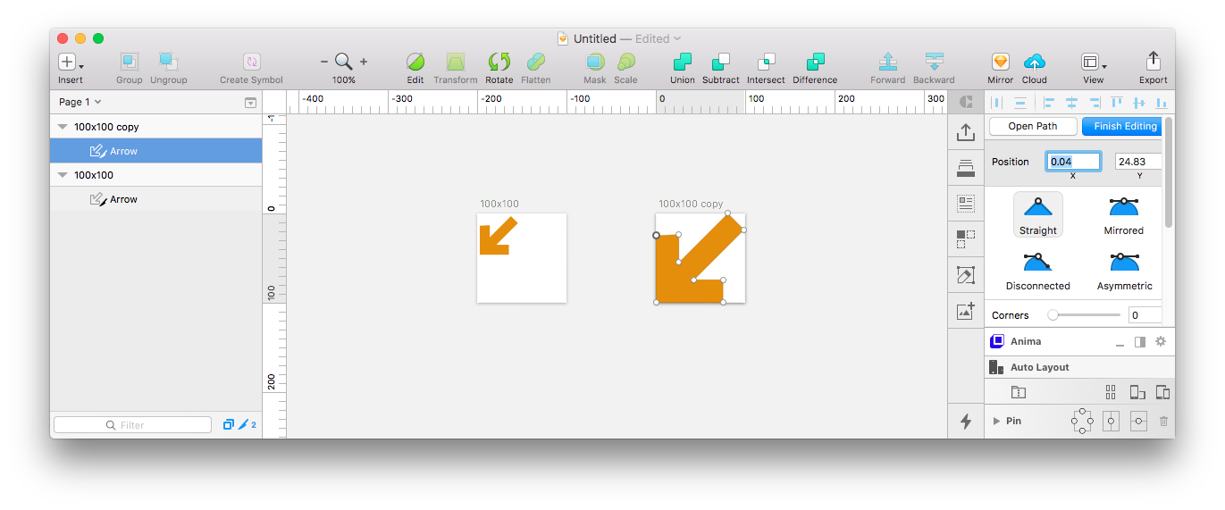 Svg hover clip path. Sketch what i learned