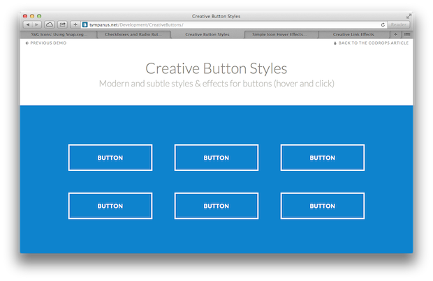 Svg hover effect. Animated icons checkboxes buttons