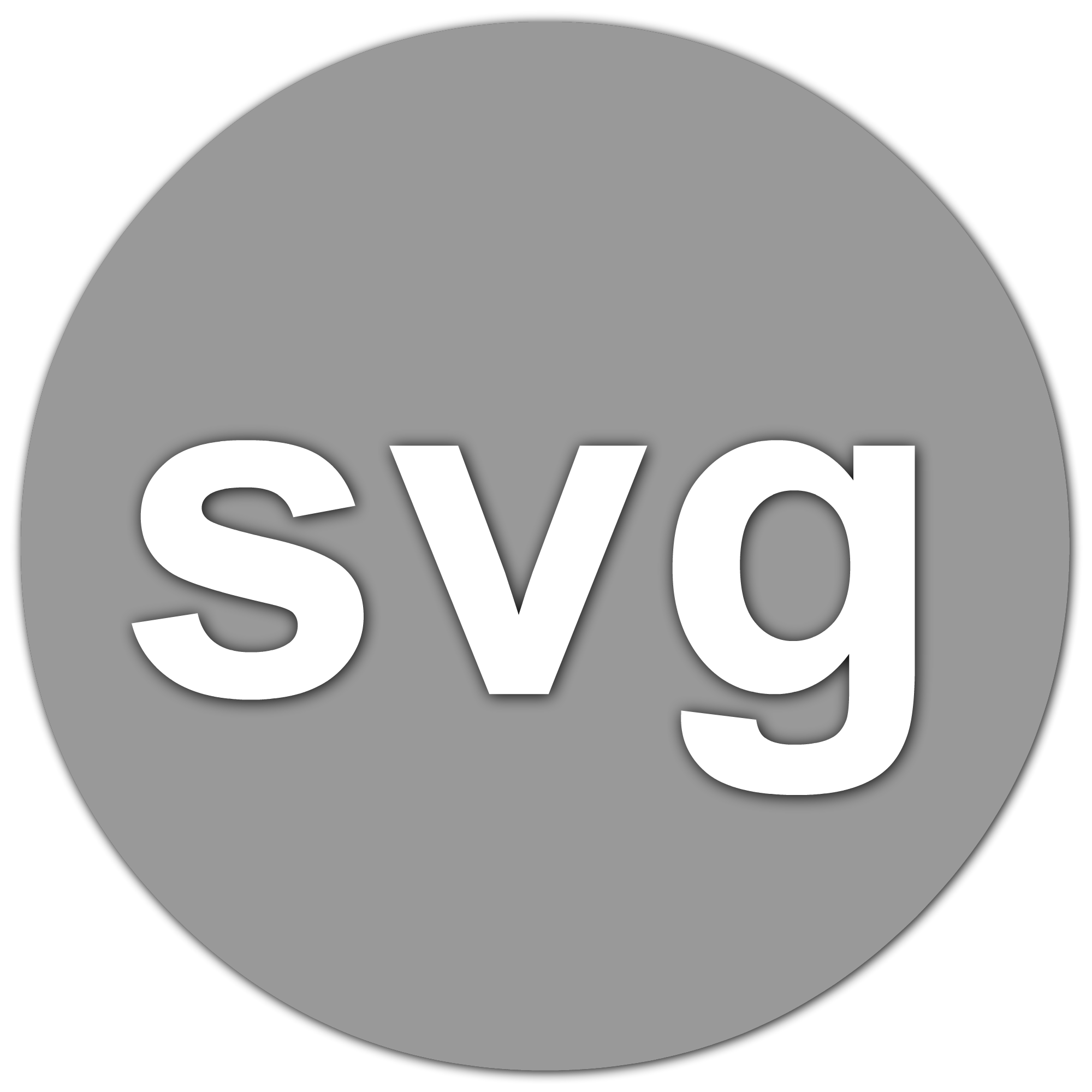 W3c svg vector graphics. Scalable toon files