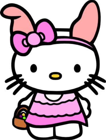 Svg inkscape hello kitty. Easter clipart at getdrawings