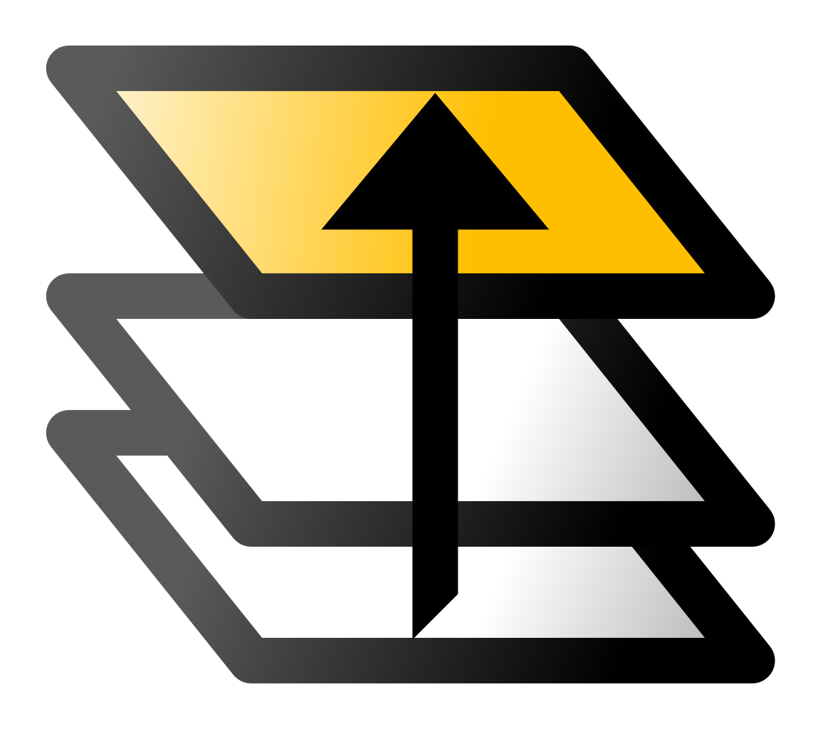 Svg layer. File inkscape icons top