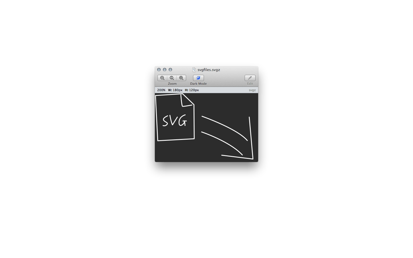 Svg mac finder. Gapplin viewer for macos