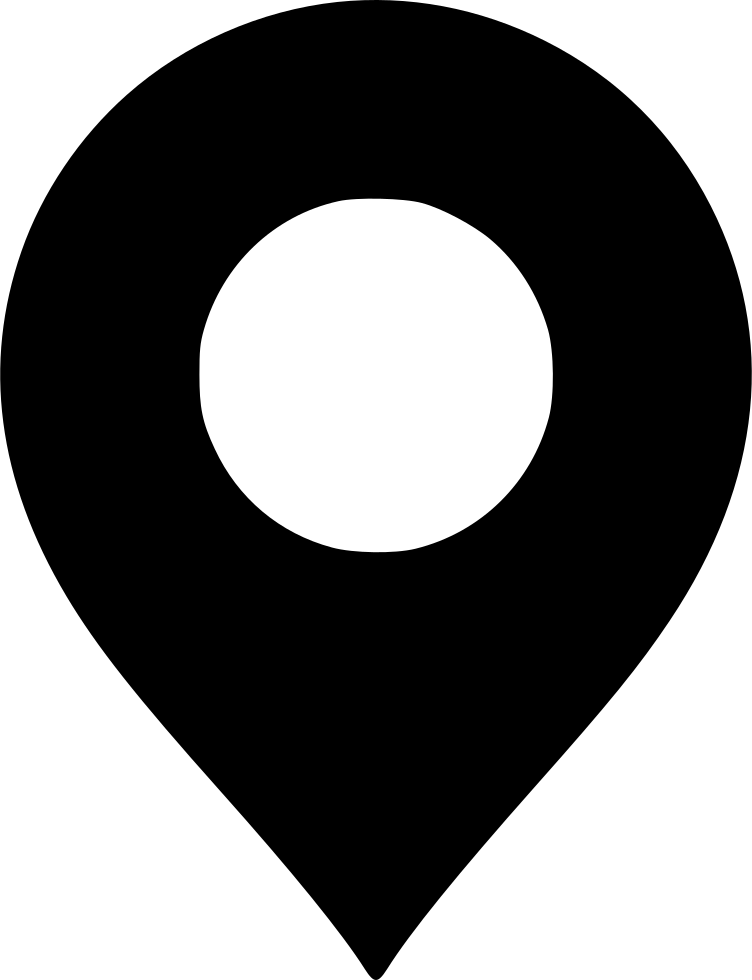 Svg marker black. Map png icon free
