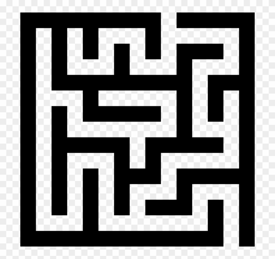 Svg maze. Download for free png