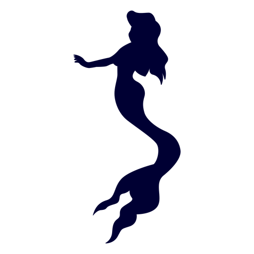 Creature silhouette transparent png. Svg mermaid clip art royalty free stock