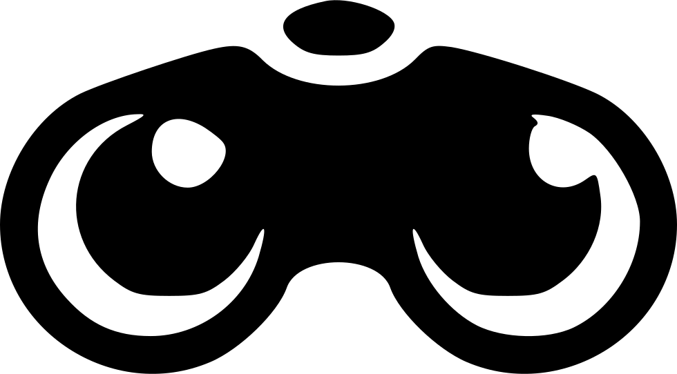 Svg objects binoculars. Png icon free download