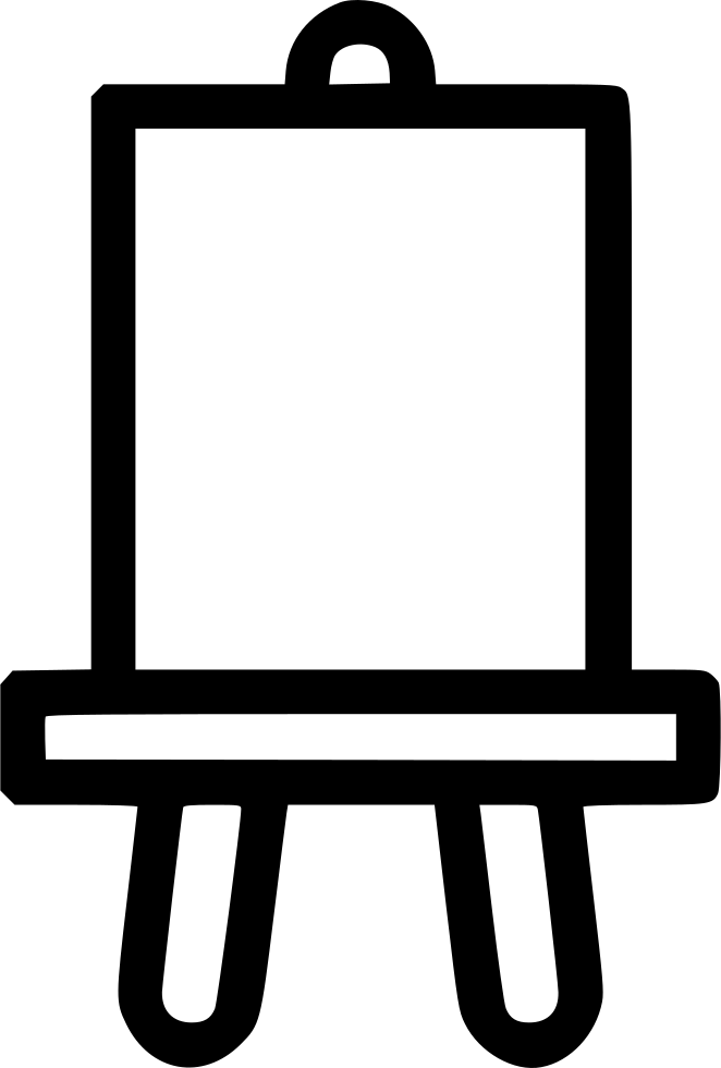 Svg objects canvas. Drawing board table png