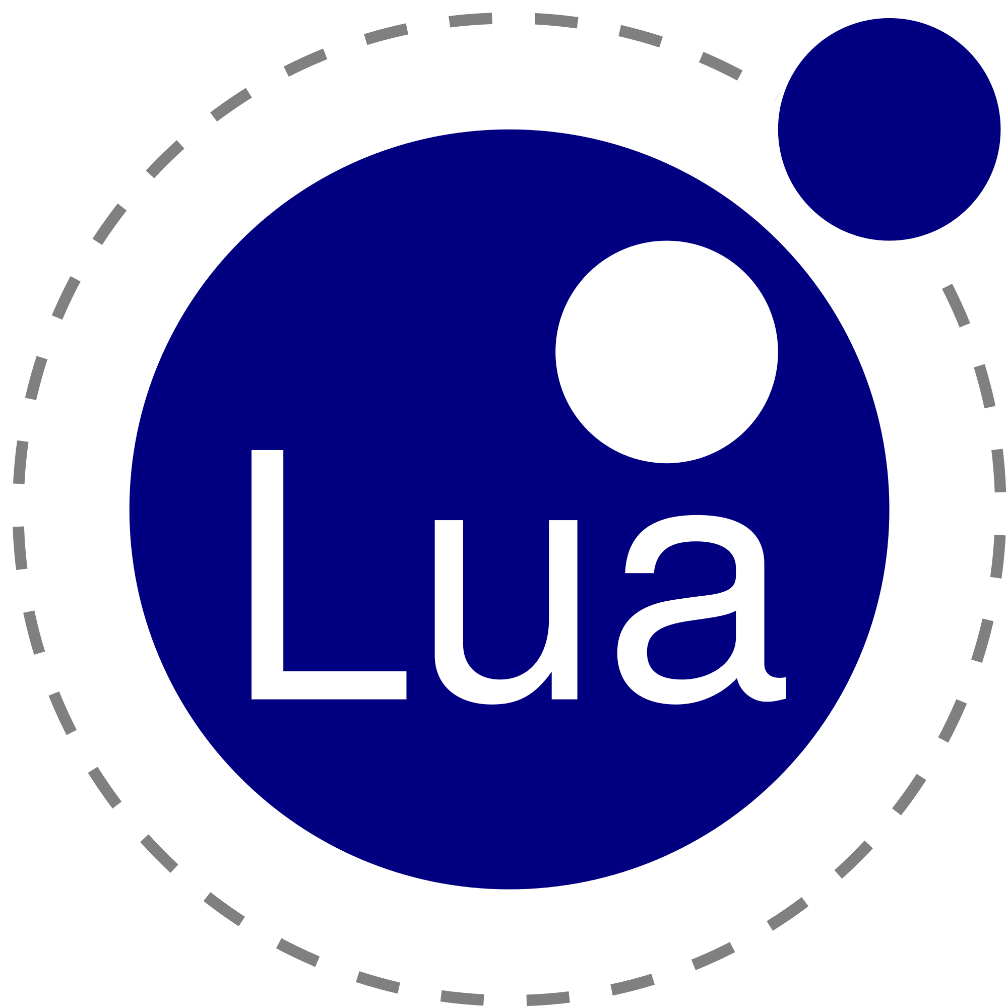 Svg objects programming. File lua logo nolabel