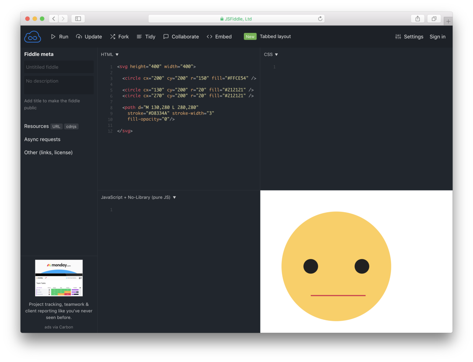 Svg onclick png. Making emojis with code