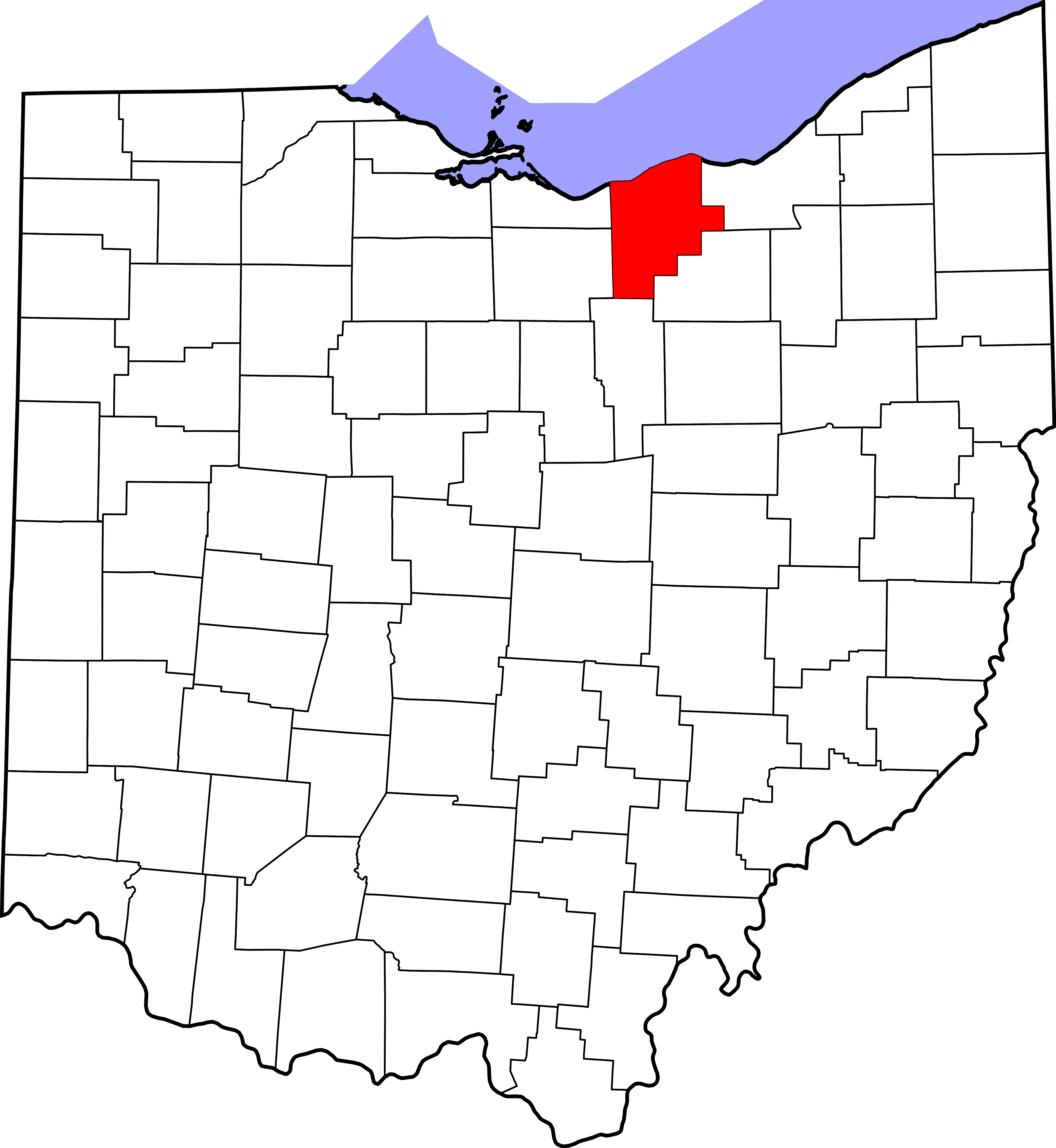 Svg properties counties. File map of ohio