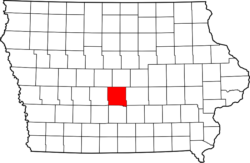 Svg properties counties. File map of iowa