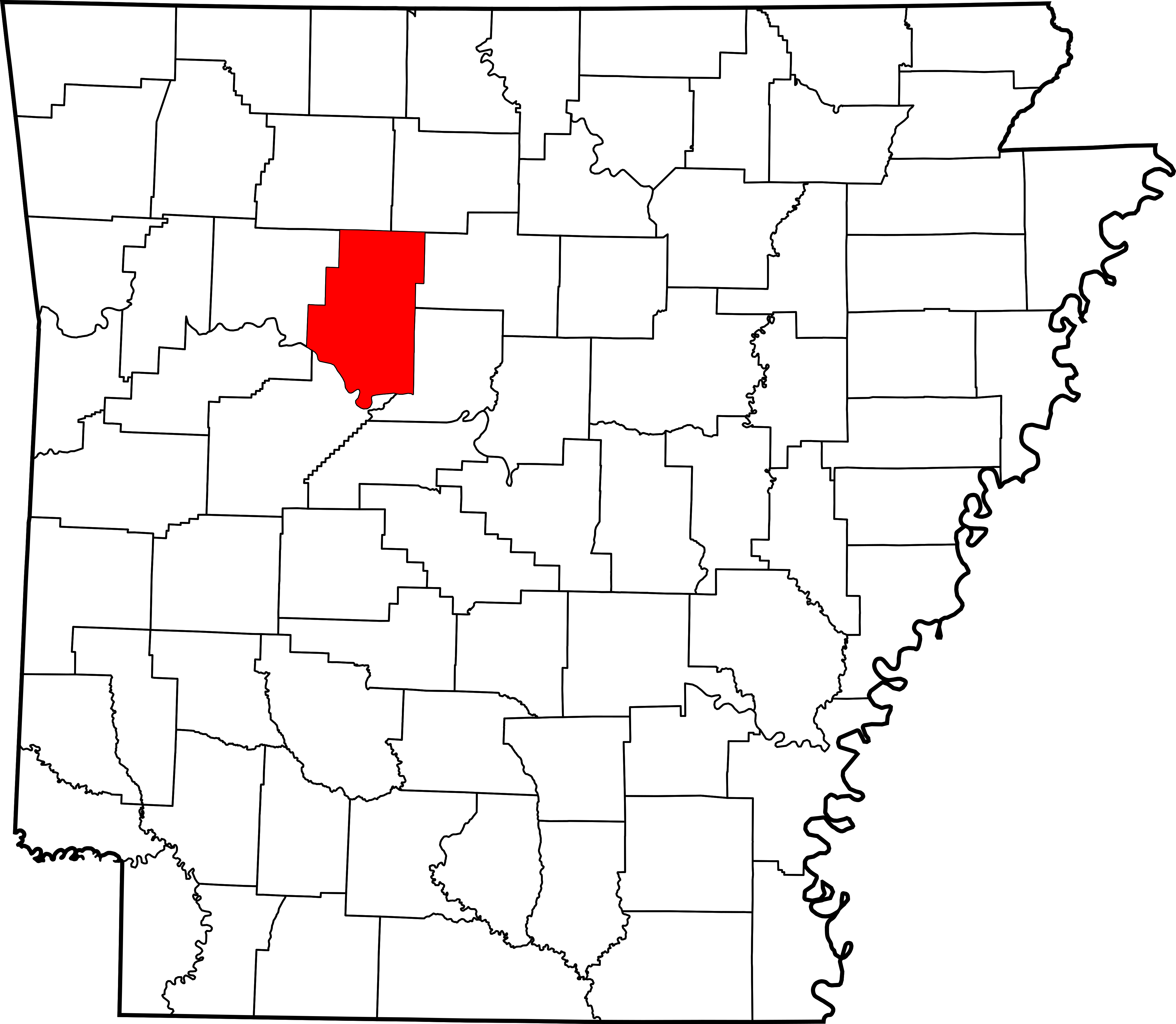 Svg properties counties. Archivo map of arkansas