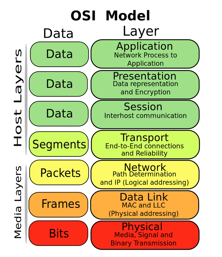 Svg reference protocol. Osi model guide with