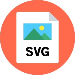 Svg preview icon. Flat shop download free