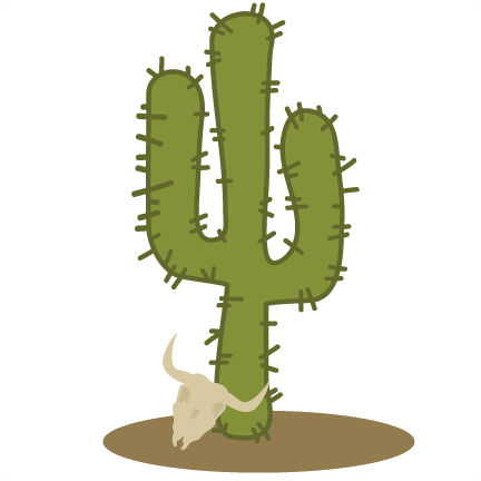Svg silhouette cactus. File for cutting machines