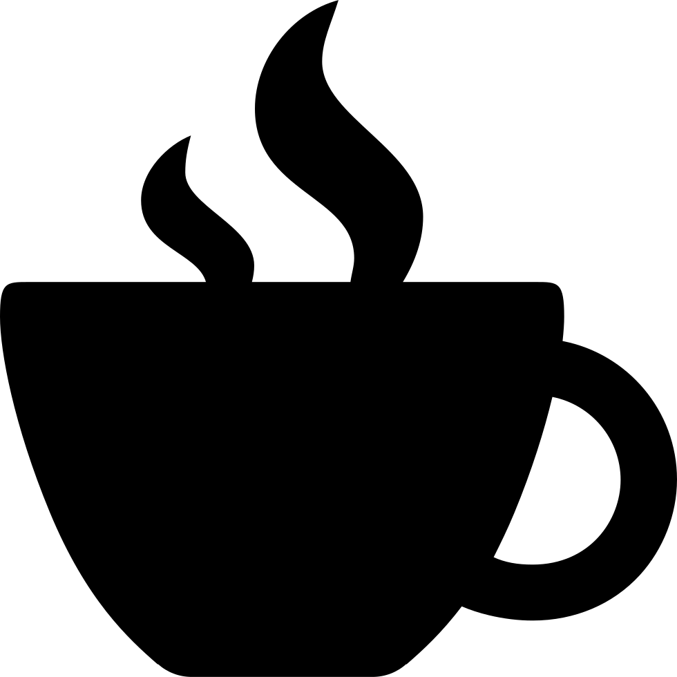 Svg silhouette coffee cup. Png icon free download