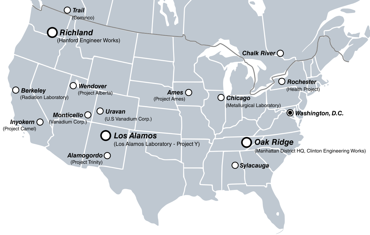 Svg sites manhattan project. File us canada map