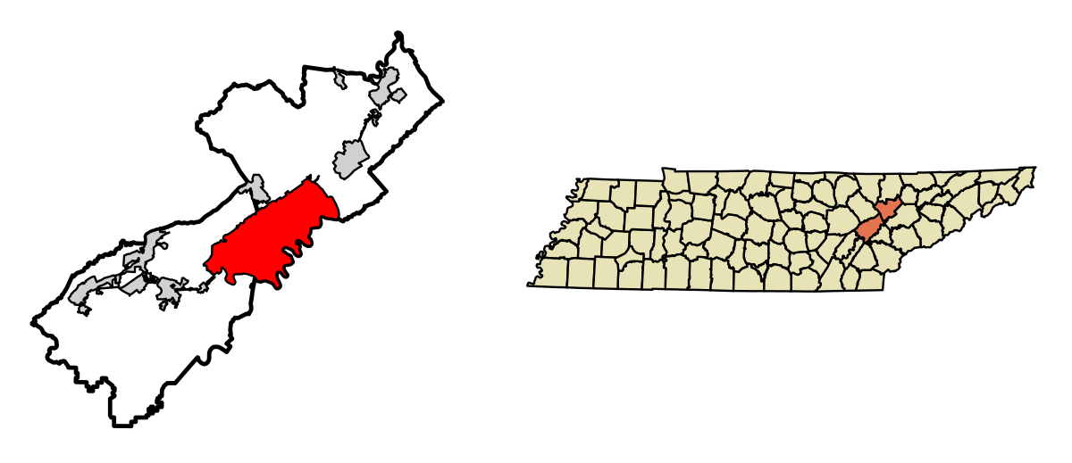 Tennessee drawing physiographic. Oak ridge wikipedia