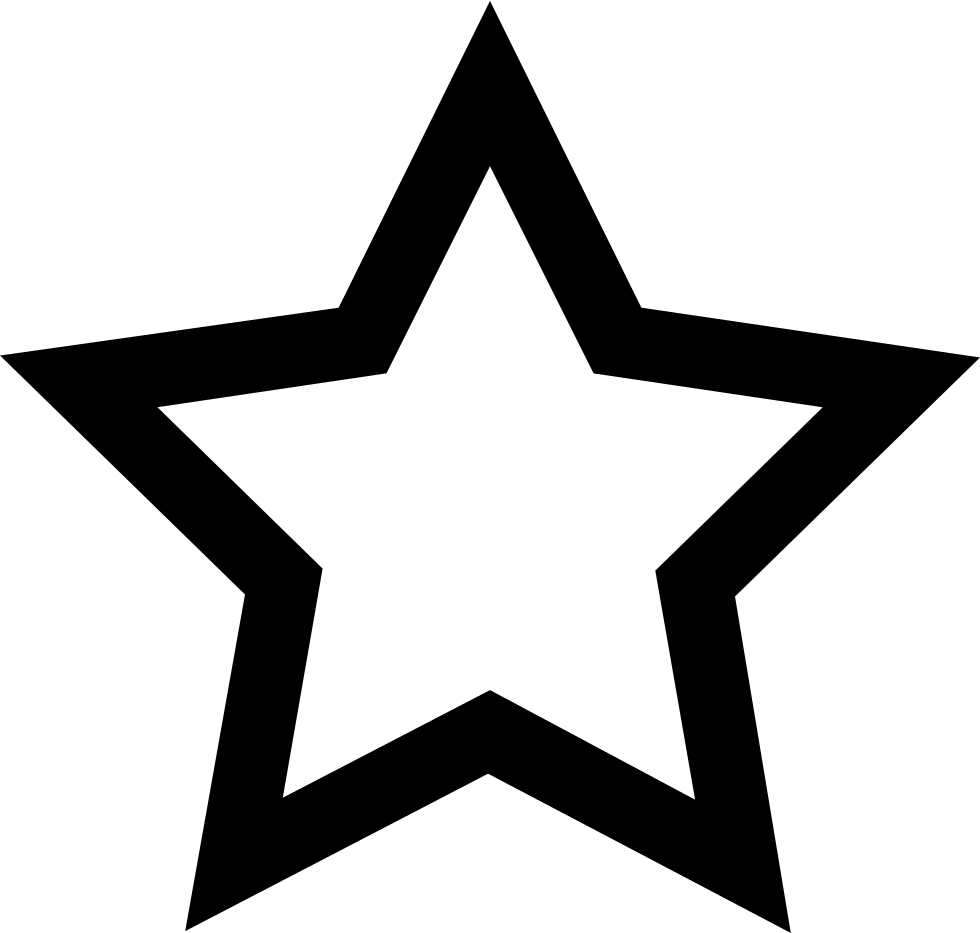 Svg star line. Hsss png icon free